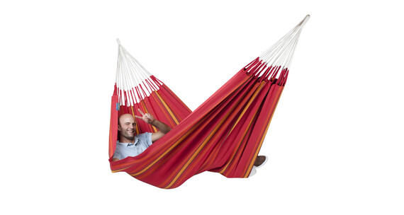 La Siesta Currambera Double hamac plus rouge